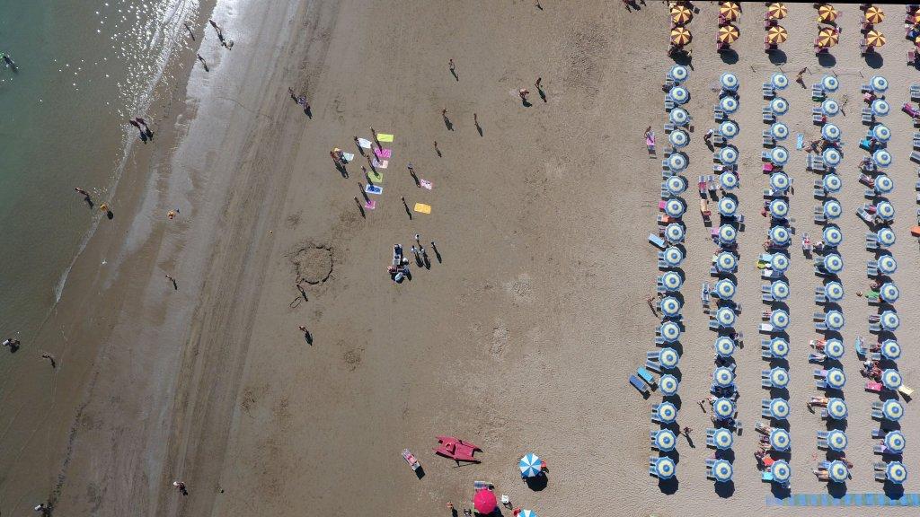 spiaggia al mare Marche